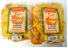 Trader Joes Dried Mango Slices unsulfured & unsweetened (6oz) - 2 Packs