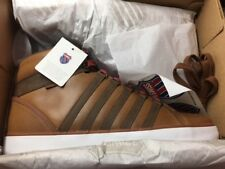 K-Swiss Gowmet II Mid Gr:44,5 High Leder Schuhe Lozan Boot Stiefel NEU Braun