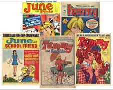 Tammy 130 issues & June 32 issues plus 23 other Girls-185 British Comics on DVD