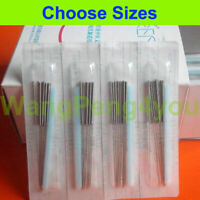 Disposable Acupuncture Single Needles with Guide Tubes Use Handle 500 pc 1000 pc