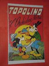 ALBO D'ORO TOPOLINO n° 104-DEL 1953-LIRE 50-L' ORCHIDEA NERA-mondadori-disney