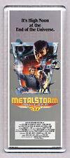 METALSTORM -  WIDE movie poster LARGE FRIDGE MAGNET -  80's Sci-Fi CLASSIC!