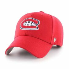 Montreal Canadiens '47 NHL MVP Structured Adjustable Red Hat Cap Hockey OSFM
