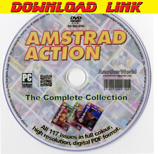 AMSTRAD ACTION Magazine Collection DOWNLOAD ALL ISSUES CPC/464/6128/GX4000 Games