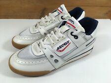 Vintage Ascot GTI Squash Shoes Court Trainers Mens Uk 5 US 6 Eu38 White OG Rare