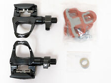 mr-ride Wellgo QRD-R096B Road Bike Pedals with Cleat - Black