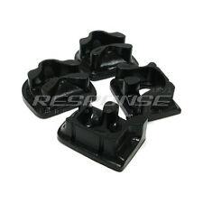 Energy Suspension Motor Mount Inserts Bushings Black Fits 92-96 Prelude 16.1103G