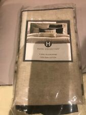 New Hotel Collection Emblem King Pillow Shams (2)