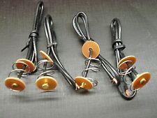 4 pcs single contact pigtail regular base tail light repair kit fits dodge