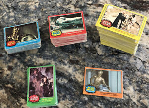 1977 Topps STAR WARS Series 1-5 BLUE Red Green Yellow Orange Lot 400+ Cards