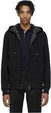 Burberry Heavyweight Fordson Hooded Sweatshirt Claredon Full Lining Black Small