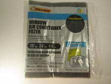 Frost King PU Window AC Air Conditioner Filter Replacement F1524 15X24X1/4 in