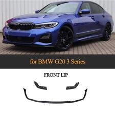 für BMW G20 G28 M-Paket Schwarz PP Spoilerlippe Front Stoßstangen Spoilerschwert