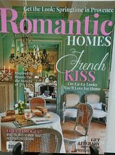 Romantic Homes April 2016 French Kiss Paris Love Limoges FREE SHIPPING