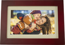 "Insignia - 10"" Widescreen LCD Digital Photo Frame Espresso - UD"