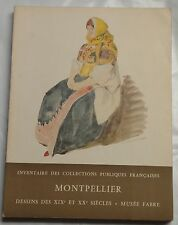 Montpellier art catalog (volume 6?), Louvre, Paris, 1962