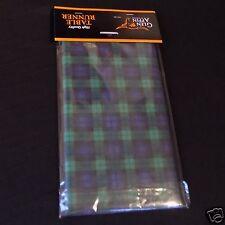 Reloj Negro Verde Tartán papel corredor de la tabla 4m X 32.5cm AP2131