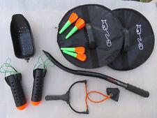 Pêche carpe, ensemble matériel amorçage