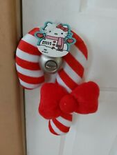 Hello Kitty Candy Cane Christmas Decor/Squeky Plush Toys for pets. New.Imported.