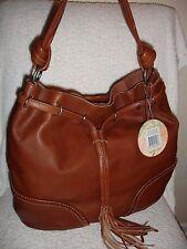 NWT The Sak Indio Brown Leather Bag Hobo 106190