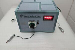 Synergetics, Inc Photon-2 Laser Light Source Vitrectomy Plus Manual