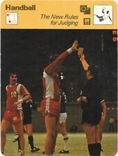 1978 Sportscaster Card Handball The New Rules for Judging #53-04 NRMINT/MINT.