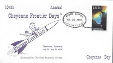 EVENT COVER - 104th ANNUAL CHEYENNE FRONTIER DAYS - CACHETED - NICE