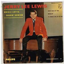 Jerry Lee LEWIS    Whole lotta shakin' goin' on      7'  EP 45 tours