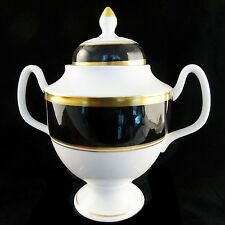 """ATHLONE BROWN Coalport COVERED SUGAR  6.75"""" tall NEW NEVER USED made England"""