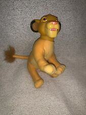 Simba Cub vinyl mini plush doll - Lion King, Disney; Applause NEW
