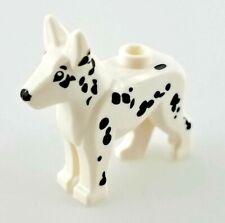 LEGO Dog Alsatian / German Shepherd Dalmation White Black Fire Dog