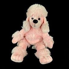"Build a Bear Pink Poodle BAB Workshop 20"" Plush Stuffed Toy"