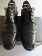 Handcrafted by JOHNSTON & MURPHY  Men's Dress Shoe Wing Tip  Cap Toe BLK  7 ½ M