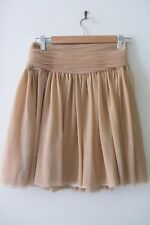 Club Monaco beige skirt ,size US 2, AUS 6-8