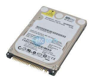 """Western Digital WD400BEVE-00UYT0 40GB 5.4K 2.5 """" Ide Rigide Lecteur"""