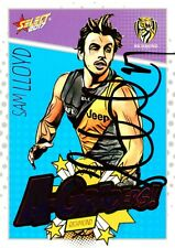✺Signed✺ 2017 RICHMOND TIGERS AFL Premiers Card SAM LLOYD A-Graders