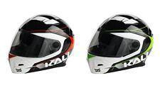 Kali Tantra Full Face Motorcycle Helmet w/ Internal Flip Down Sun Visor