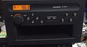 Vauxhall Agila 2005 Radio With Code & Books🇬🇧