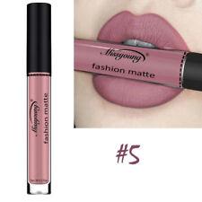 1pc Ladies Waterproof Lip Colors Matte Gloss Liquid Long Lasting Lipstick Makeup