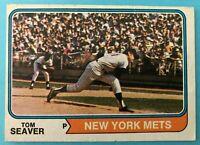 1974 Topps Baseball Card #80 Tom Seaver New York Mets
