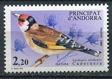 TIMBRE ANDORRE FRANCE NEUF N° 343  **  FAUNE OISEAUX CARDUELIS CARDUELIS