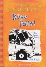 Jeff Kinney - Gregs Tagebuch 9 - Böse Falle! - Comic-Roman - HC 2014 - Baumhaus