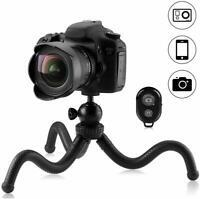 30cm Mini Trépied Smartphone Flexible pour Caméra, iPhone, Gopro avec Adaptateur