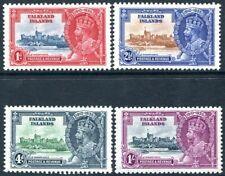 FALKLAND ISLANDS-1935 Silver Jubilee Set Sg 139-142 UNMOUNTED MINT V30299