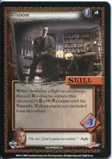 Buffy CCG TCG Angels Curse Unlimited Edition Card #18 Wisdom