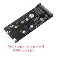 NGFF M.2 SSD to Sata 3.0 Adapter Converter Card with Mini Usb 5pin Interface