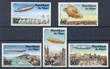 NIGER* 1976* compl.set 5 stamps*MNH** ZEPPELINS - Mi.No 522-526