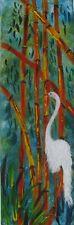 "LYN COLLISHAW AUSTRALIAN SMALL OIL ""THE DAINTREE BIRD"" C 2000"
