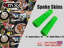 "Wheel Spoke Protectors Green 18"" 21"" fits Husaberg FC550 6 Speed 03-04"