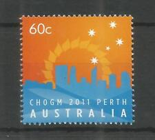 AUSTRALIA 2011 COMMONWEATH HEADS OF GOVERNMENT MEETING SG,3664 U/MM NH LOT 8564A
